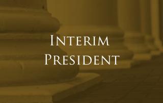 Interim President of ASU