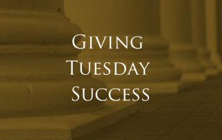 Raising Money on Giving Tuesday