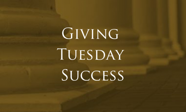 Raising Money on Giving Tuesday