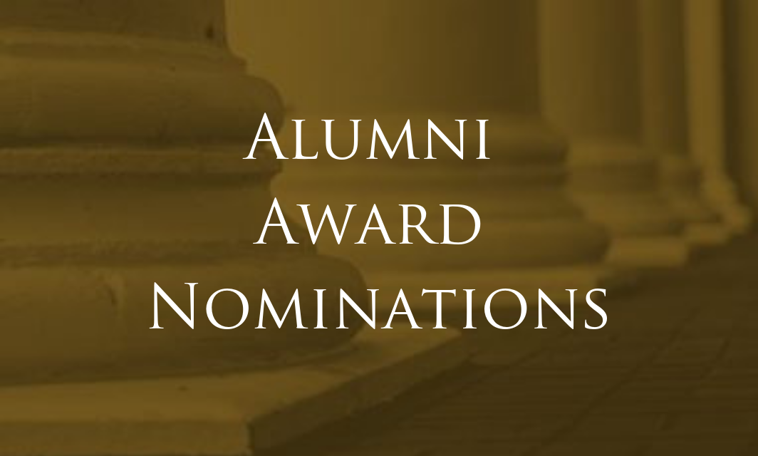Seeking nominations for the alumni association awards