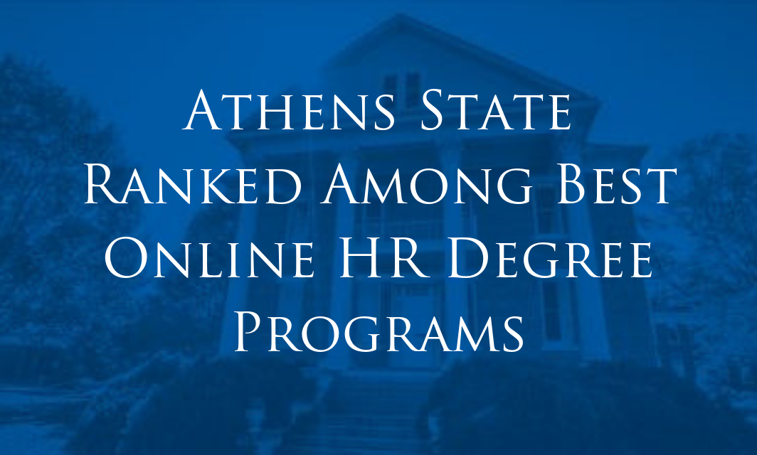 Online HR Degree Programs - Athens State Ranked