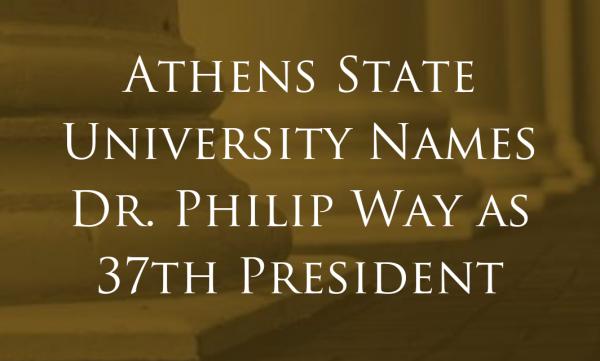 University President Athens State