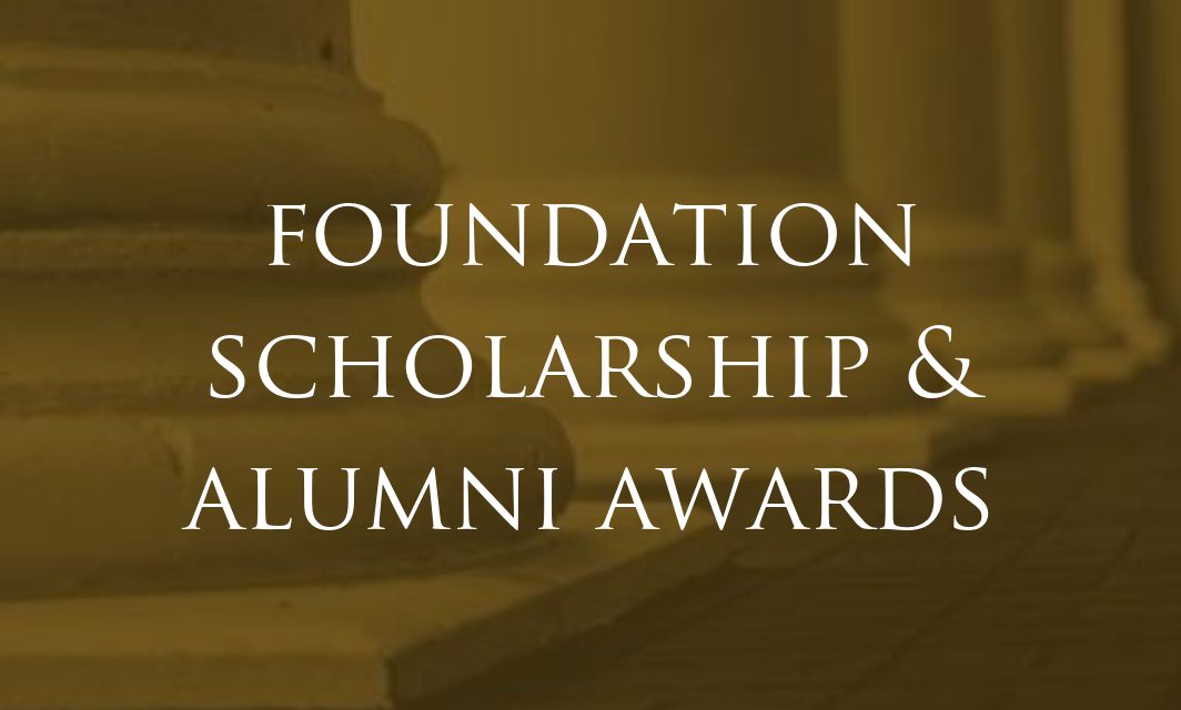 Alumni Awards and Foundation Scholarship Reception