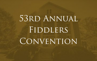 53rd Annual Fiddlers Convention