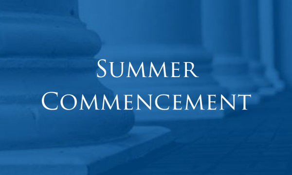 Athens State University Summer Commencement