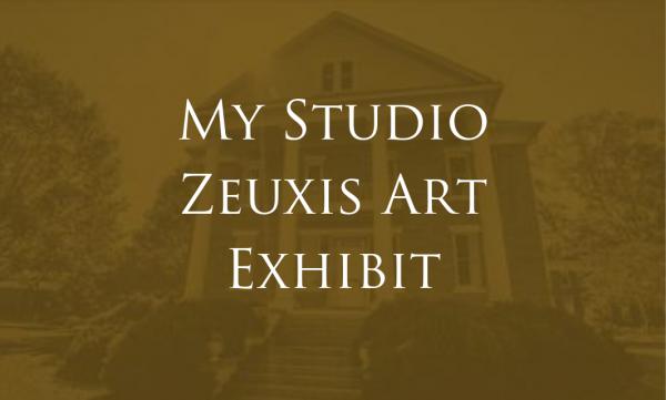Zeuxis My Studio Exhibit at ACA