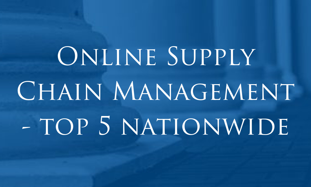 Athens State Online Supply Chain Management