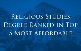 Athens State Religious Studies Degree Ranked