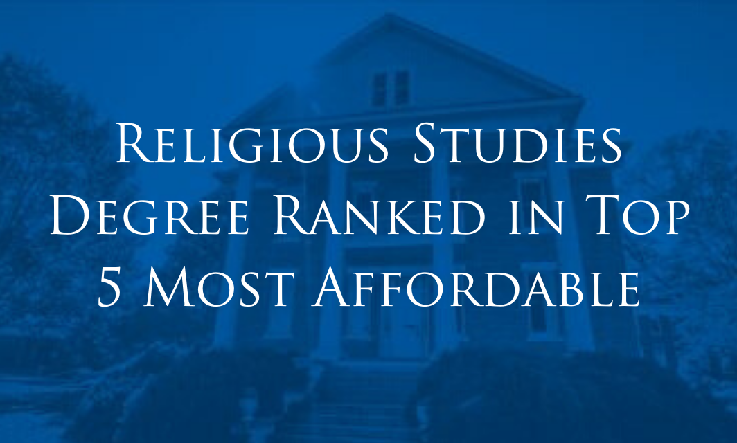 Athens State Religious Studies Degree Ranked