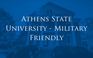 Athens State Earns Military Friendly Designation