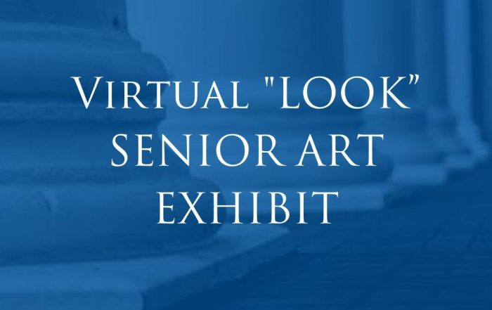 Virtual LOOK Senior Art Exhibit