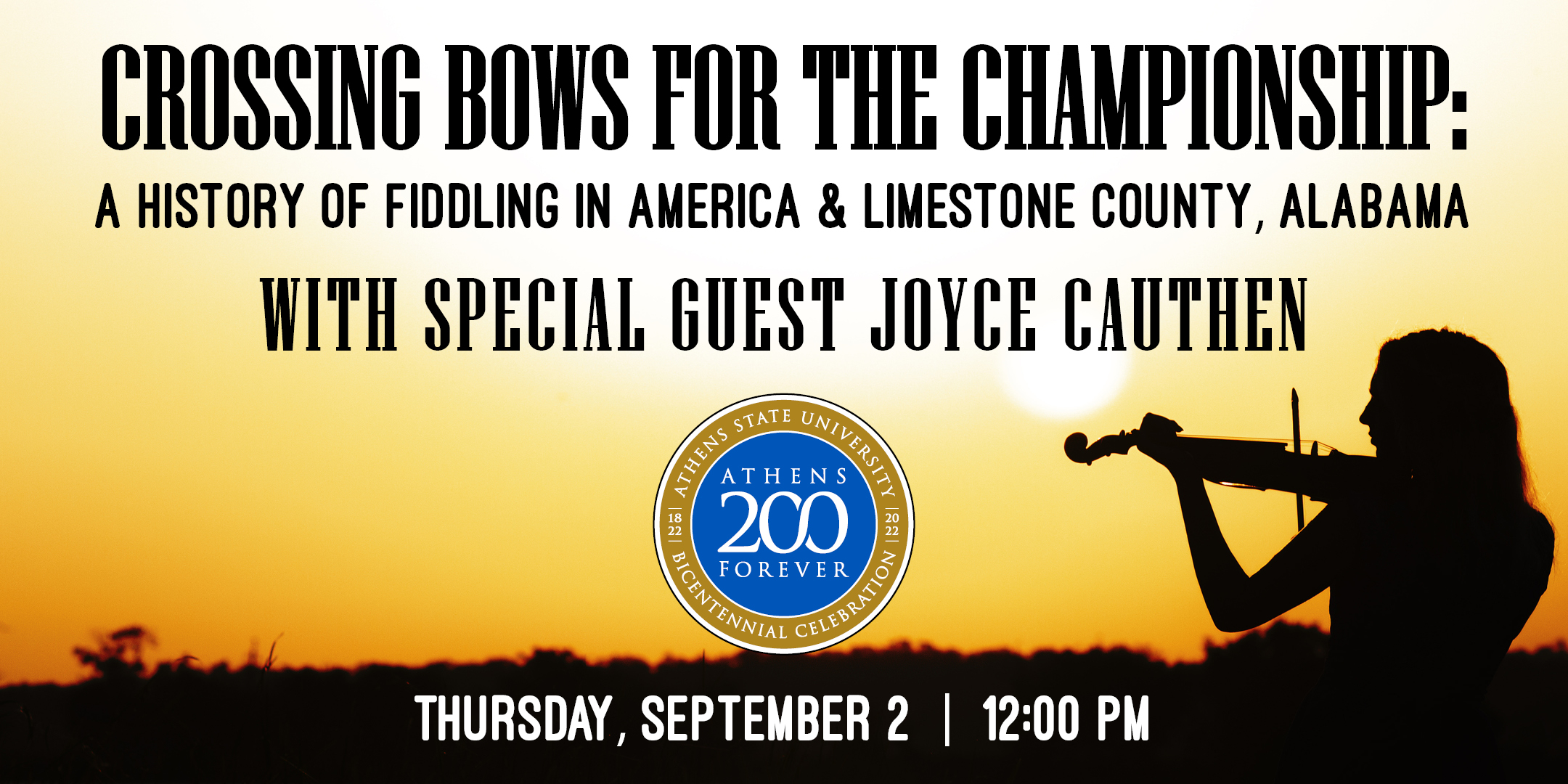 Joyce Cauthen Event